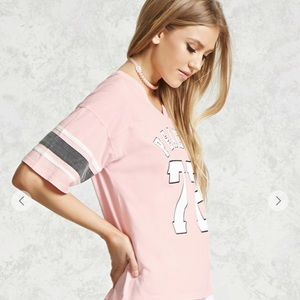 f4347dceb Forever 21 Tops - Peachy 72 Graphic Tee-Forever 21